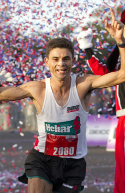Men's Marathon Winner: Fredison Costa of Brazil