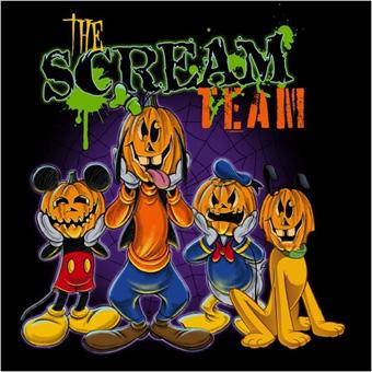 scream team merchandise design at the disneyland resort
