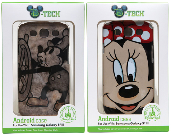 New D-Tech Cases Coming to Disney Parks in Fall 2012, Including Cases for Android Phones