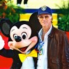 Ted Danson attends the Grand Opening Celebration of Mickey's Toontown at Disneyland park in January 1993