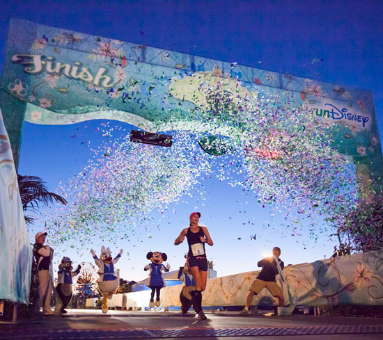 Angela Escay Wins the 2013 Tinker Bell Half Marathon