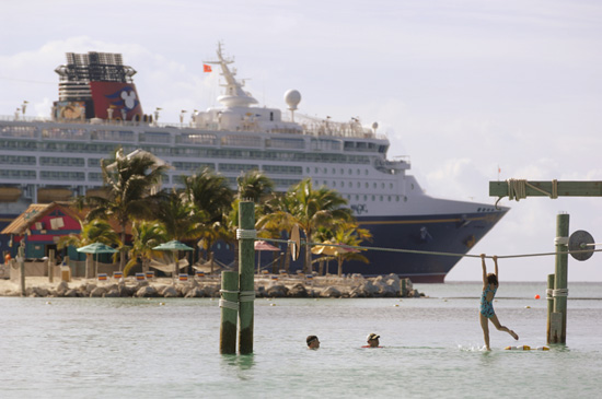 Disney Cruise Line Visits Castaway Cay, Disney's Private Island