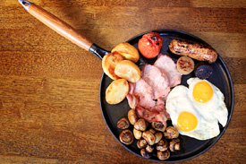 Full Irish Breakfast at Raglan Road Irish Pub & Restaurant Sunday Brunch at Downtown Disney Pleasure Island