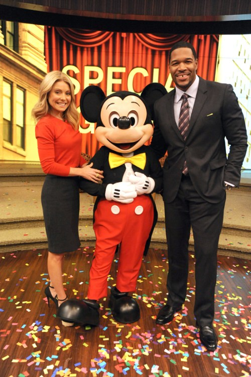 Attend 'LIVE with Kelly and Michael' Tapings at Magic Kingdom Park at Walt Disney World Resort