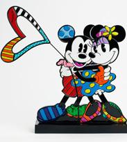 Artist Romero Britto's Recent Release, Featuring Mickey and Minnie in Love