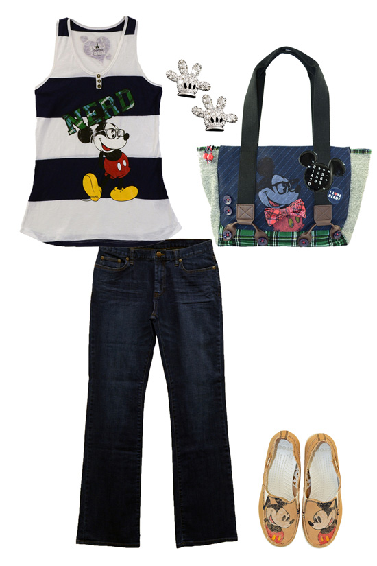 Disney Style Snapshots: An Adorkable Disney Look