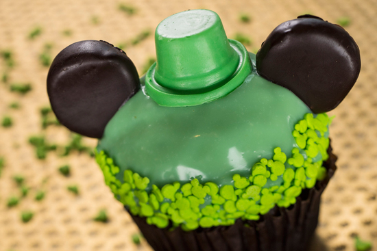 Check Out the St. Patrick's Day Chocolate Cupcake at Disney's Hollywood Studios, March 8 - March 17