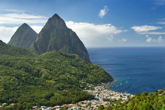 Visit the Caribbean – Including St. Lucia – with Disney Cruise Line