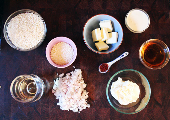 Saffron Risotto Ingredients - Recipe for Disney Cruise Line's Osso Bucco