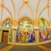Mosaics in Cinderella Castle at Magic Kingdom Park