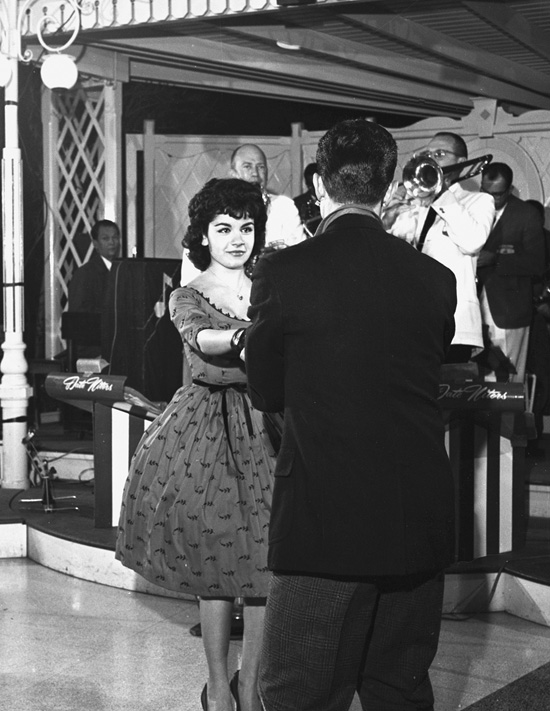 Annette Funicello at Disneyland Park