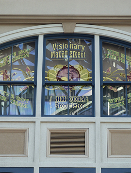 Jim Cora Window at Tokyo Disneyland
