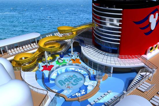 AquaLab Water Playground on the Disney Magic