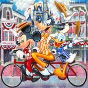 Tim Rogerson - Dapper Dans, at Art of Disney in the Downtown Disney Marketplace