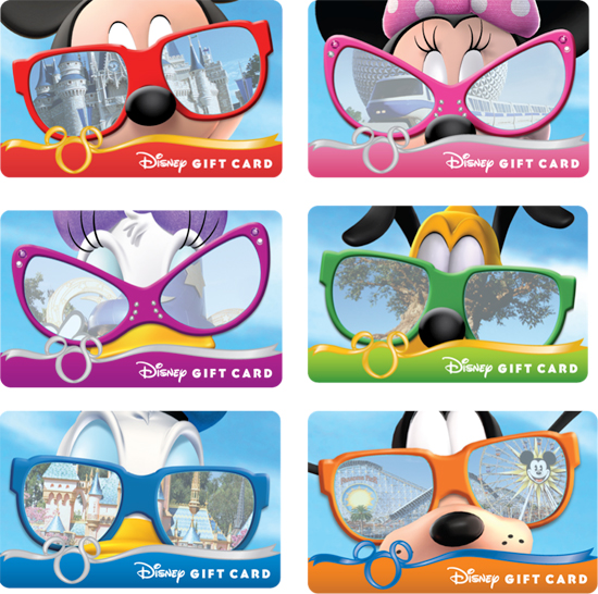 Sun and Fun with Disney Gift Card Sunglasses Series