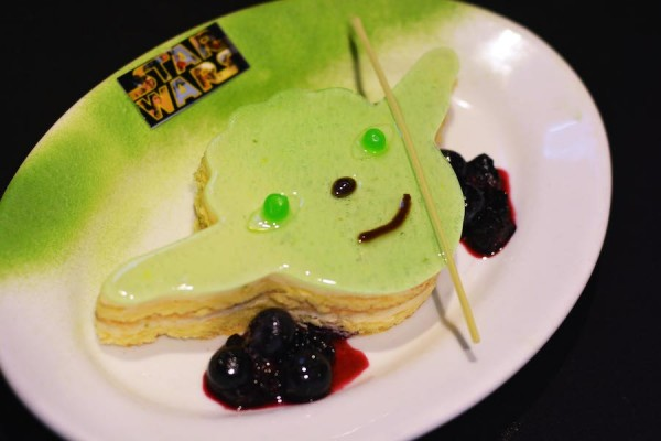 Mini Yoda Key Lime Cake from the Rebel Hangar: A Star Wars Lounge Experience at Disney's Hollywood Studios