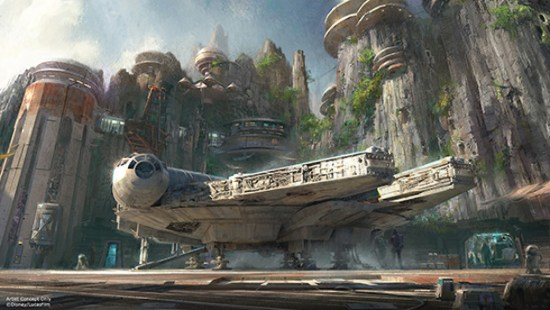 Star Wars-Themed Lands Coming to Walt Disney World and Disneyland Resorts