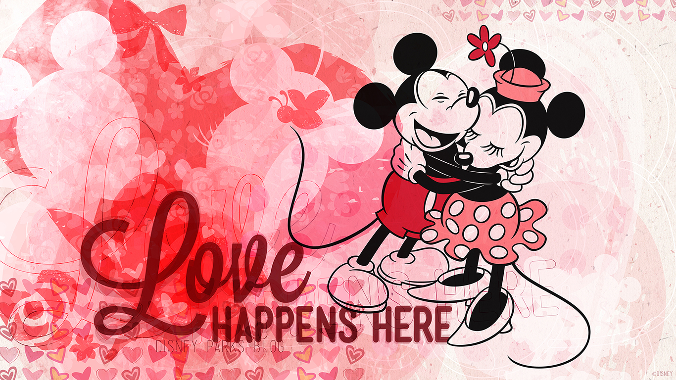 Download Our Disney Parks Valentines Day Wallpapers