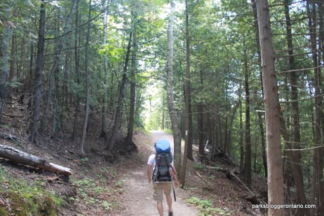 Bruce Side Trail at forks of the credit provincial park