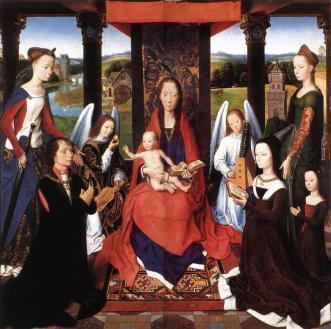 Hans-Memling-Donne-Triptychon