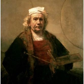 Rembrandt-van-Rijn-Selbstporträt