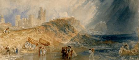 Joseph Mallord William Turner, Holy Island, Northumberland; Lindisfarne, c. 1829