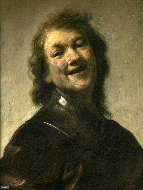 Rembrandt Harmensz. van Rijn, circa 1628 Oil on copper 8 3/4 x 6 3/4 in. Getty Centre, Los Angeles