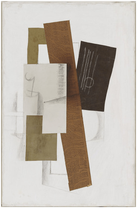 Guitarra (1913), de Georges Braque