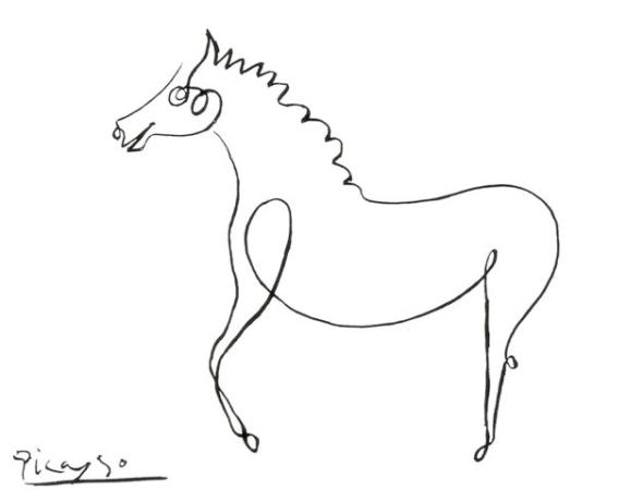 Pablo Picasso Le Cheval