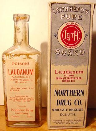 """A bottle of """"laudanum"""""""