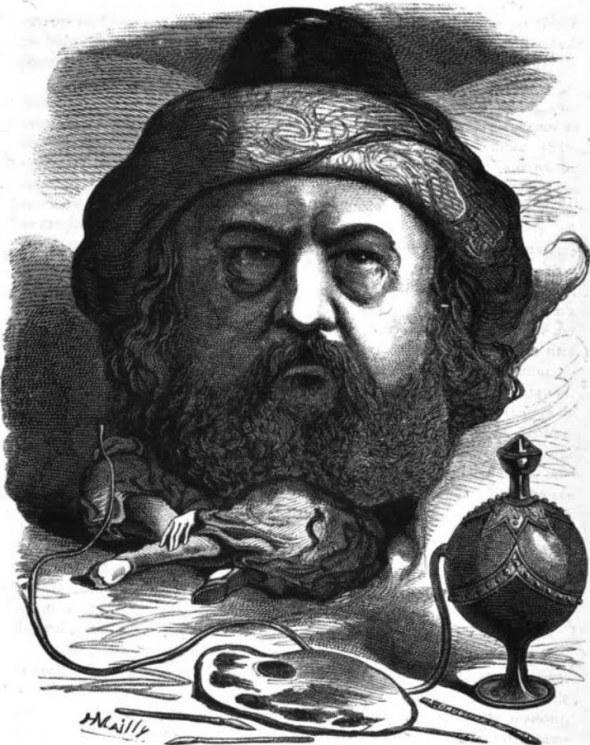H. Mailly: Porträt von Gautier.