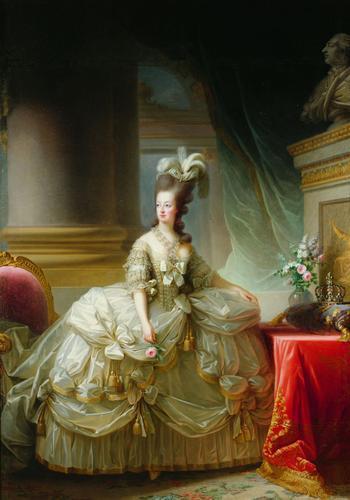 Erzherzogin Marie Antoinette (1755-1793), Königin von Frankreich, 1778. Öl auf Leinwand, 273 x 193,5 cm. Kunsthistorisches Museum Wien, Wien.