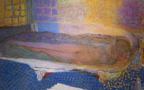 Nu dans le bain, 1936-1938. Huile sur toile. Musée d'Art Moderne de la Ville de Paris, Paris.