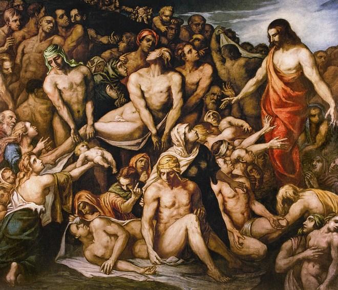 Émile Bernard, Christus heilt die Kranken, 1924. Öl auf Leinwand, 265 x 300 cm. Ca' Pesaro Galleria Internazionale d'Arte Moderna, Venedig.