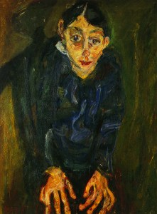 Die Verrückte, um 1919. Öl auf Leinwand, 87 x 65,1 cm. Privatsammlung, Paris.