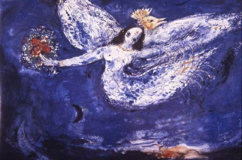 Marc Chagall, Study for 'The Firebird' Ballet Curtain, 1945. New York City Ballet