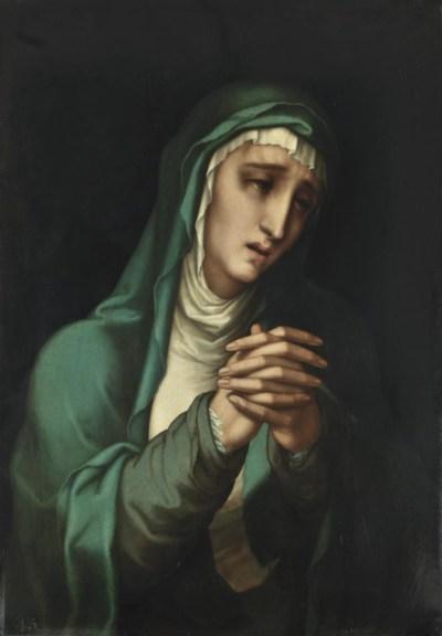 La Virgen de los Dolores (1560- 1570). Óleo sobre tabla, 73 x 50,5 cm. Museo del Prado, Madrid.