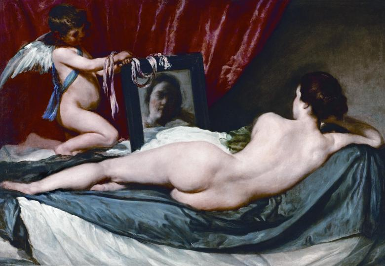 Venus and Cupido. Oil on canvas (1650)