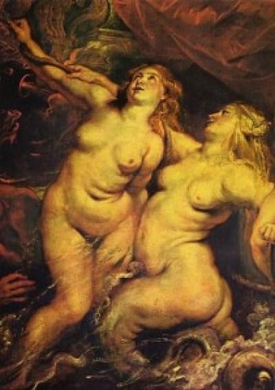 彼得•保罗•鲁本斯,《玛丽•德•美第奇在马赛港登岸》,11月3日,1600,1622-1625年。帆布油画,394*295cm。卢浮宫,巴黎。