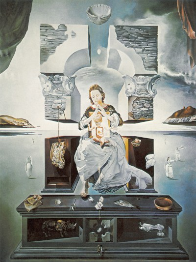 La Madone de Port Lligat, 1950. Huile sur toile, 366 × 244 cm. Fukuoka Art Museum, Kyushu.