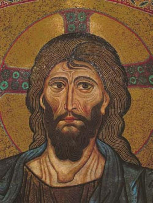 portrait Christ Pantocrator