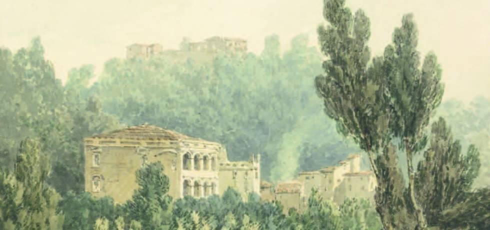 Turner-In the Valley Near Vietri