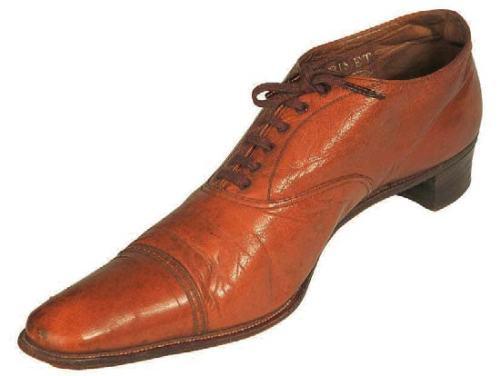 Oxford style man's shoe