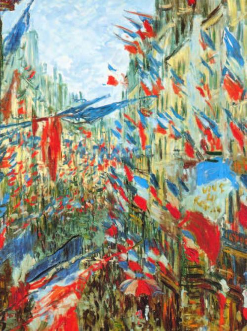 Claude-monet-La-Rue-Montorgueuil