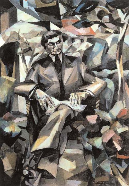 Albert-Gleizes-Porträt-Jacques-Nayral-1911