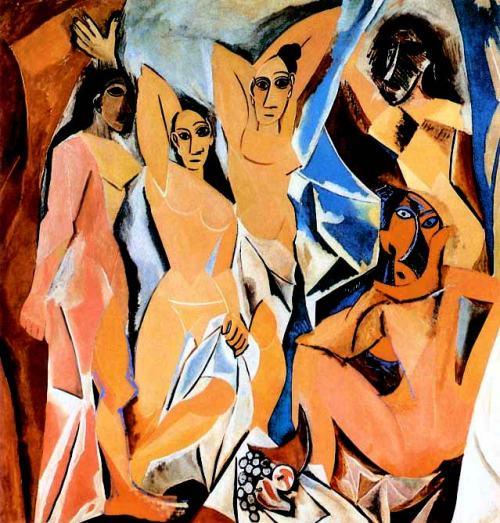 Pablo-Picasso-Les-Demoiselles-d'Avignon
