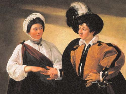 Caravaggio-La-Diseuse-de-bonne-aventure