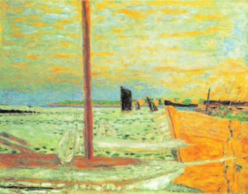Pierre-Bonnard-Das-gelbe-Boot