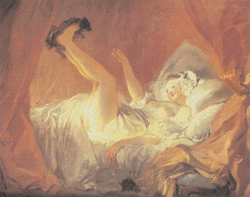 Erotic-art-Jean-Honoré-Fragonard-La-Gimblette