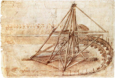 Leonardo-Da-Vinci-Giant-Mechanical-Digge